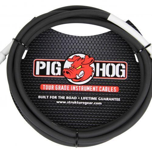 """Pig Hog 10ft 1/4"""" - 1/4"""" 8mm Inst. Cable"""