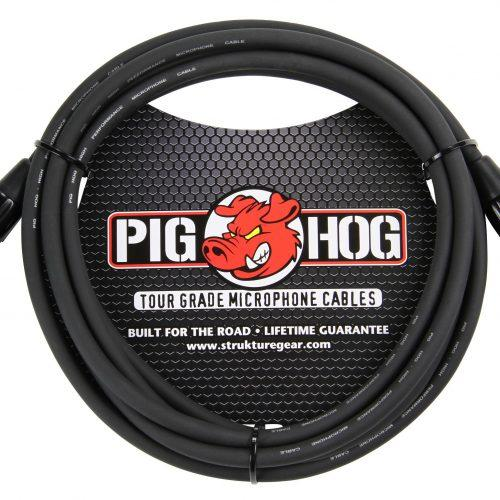 Pig Hog 8mm Mic Cable, 10ft XLR