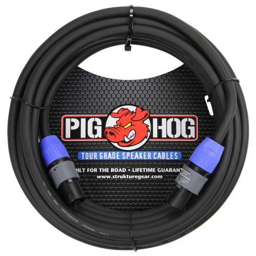 Pig Hog 50ft Speaker Cable, SPKON to SPKON