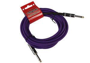 18.6ft Instrument Cable, Woven - Purple