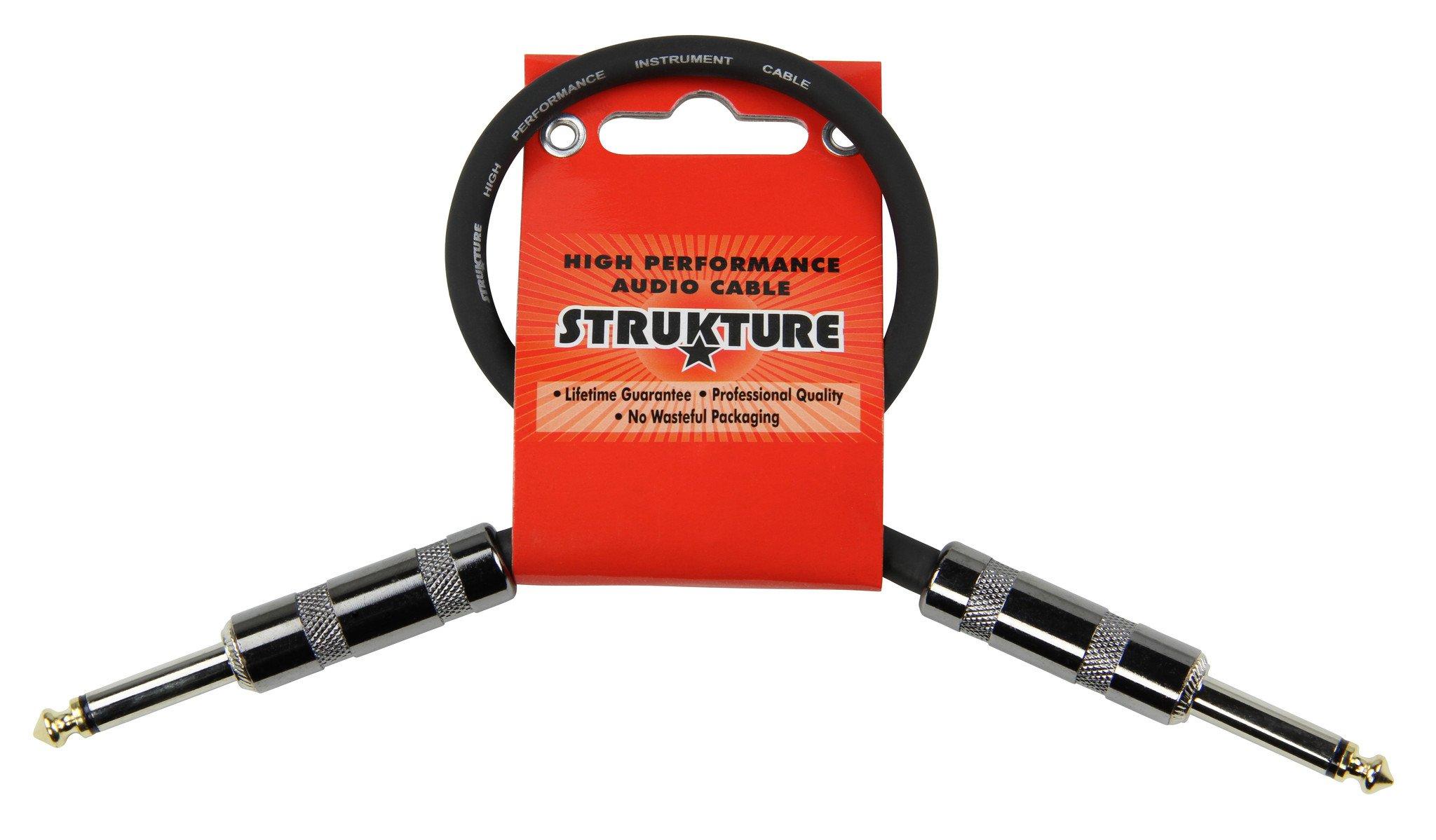 Strukture 1ft Instrument Cable