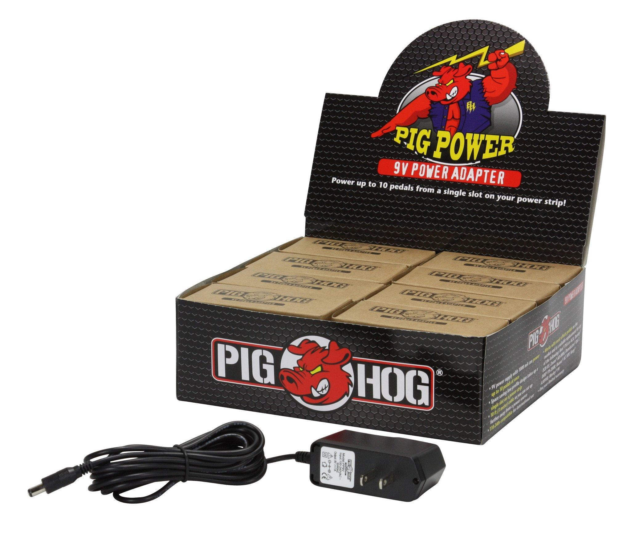 Pig Power 9V AC 1000ma Power Supply (8 pcs. Per Display Box)