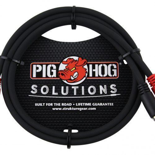 Pig Hog Solutions - 3ft RCA-RCA Dual Cable