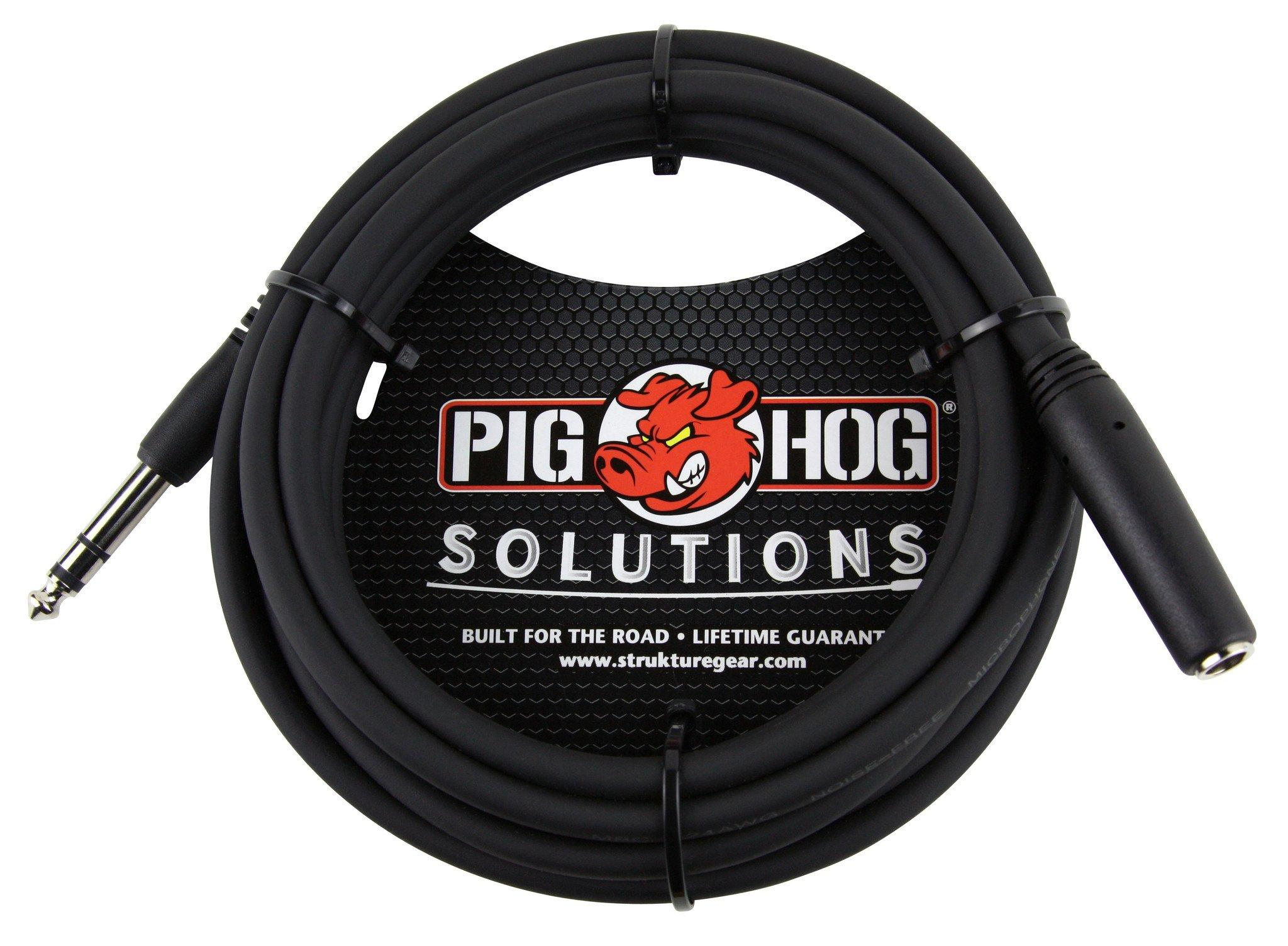 """Pig Hog Solutions - 10ft Headphone Extension Cable, 1/4"""""""