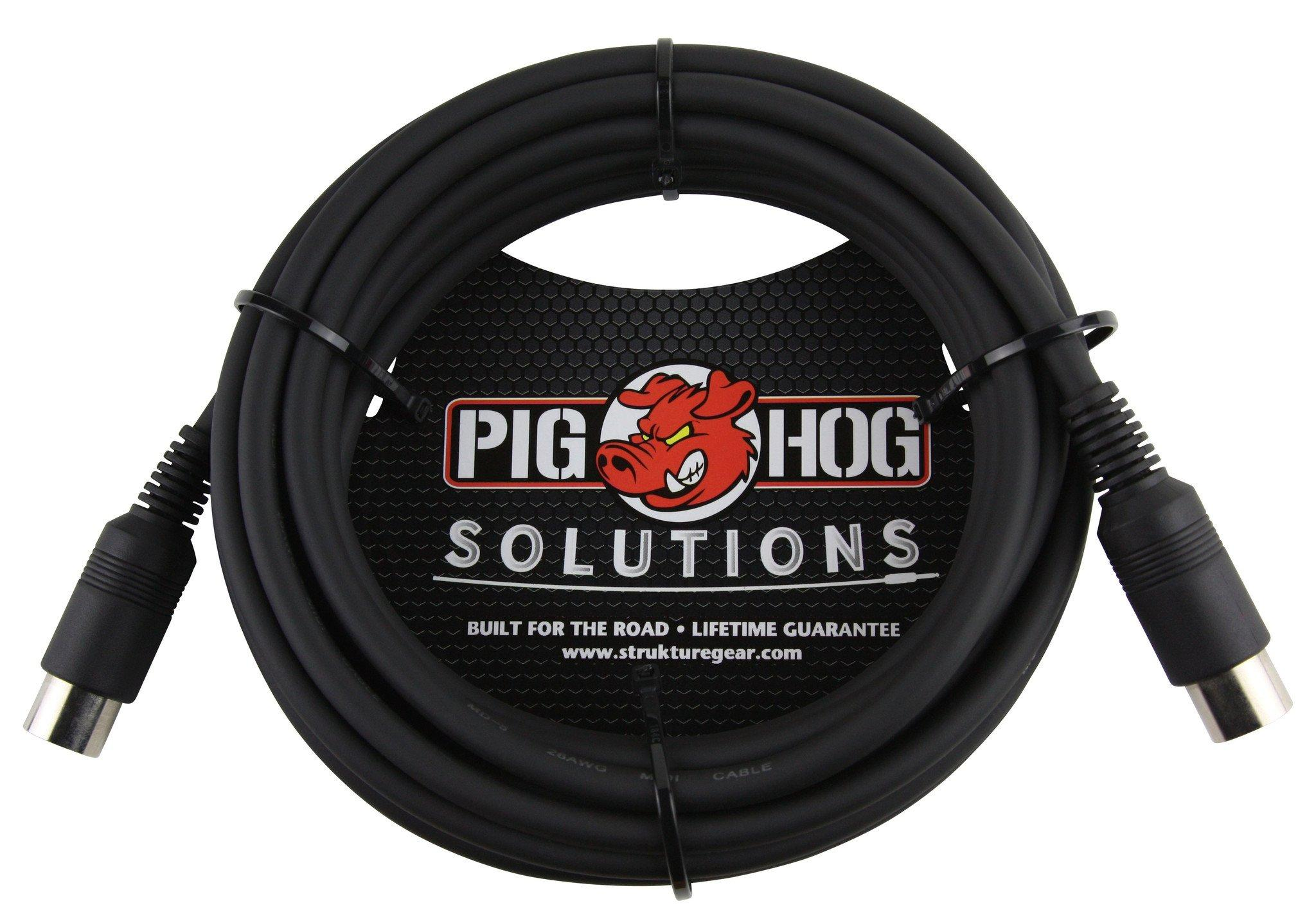 Pig Hog Solutions - 15ft MIDI Cable