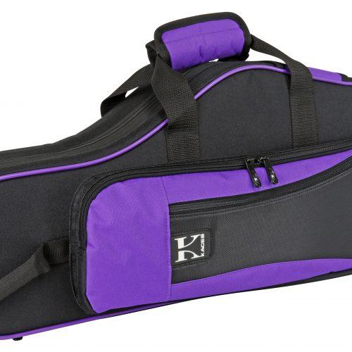 Lightweight Hardshell Alto Sax Case, Purple