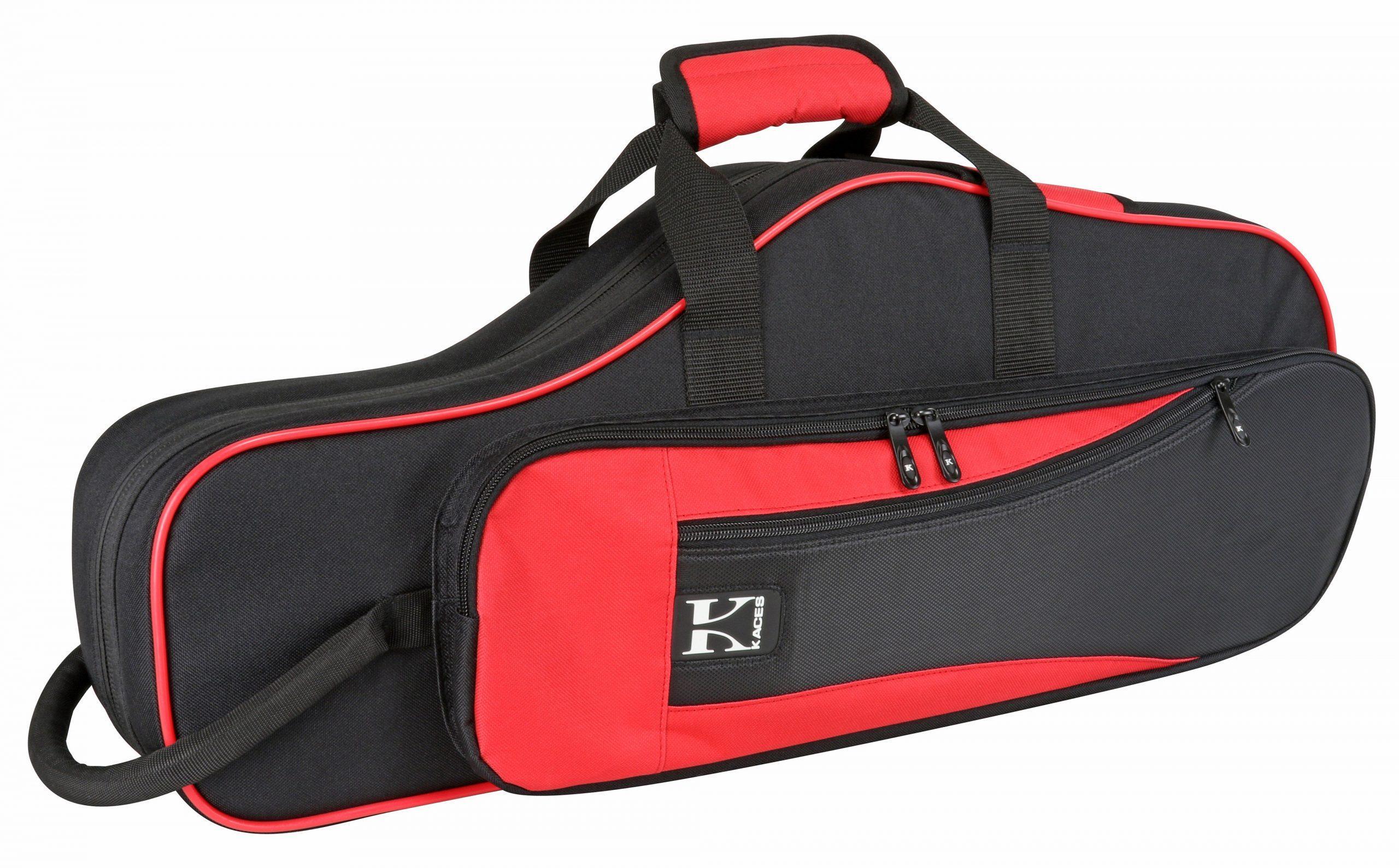 Lightweight Hardshell Alto Sax Case, Red