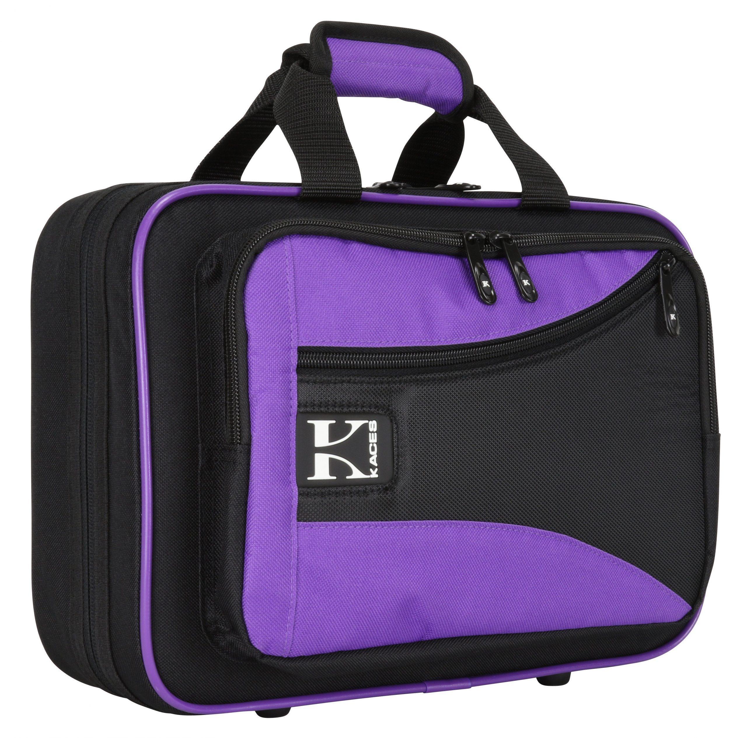 Lightweight Hardshell Clarinet Case, Purple