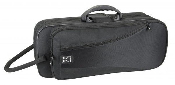 Kaces Lightweight Hardshell Trumpet Case, Black