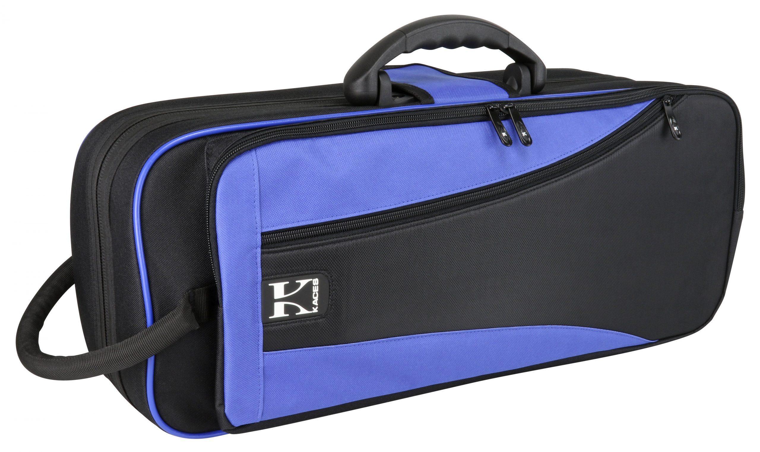 Kaces Lightweight Hardshell Trumpet Case, Blue