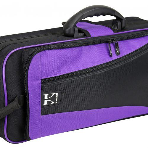Kaces Lightweight Hardshell Trumpet Case, Purple