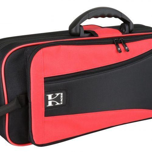 Kaces Lightweight Hardshell Trumpet Case, Red