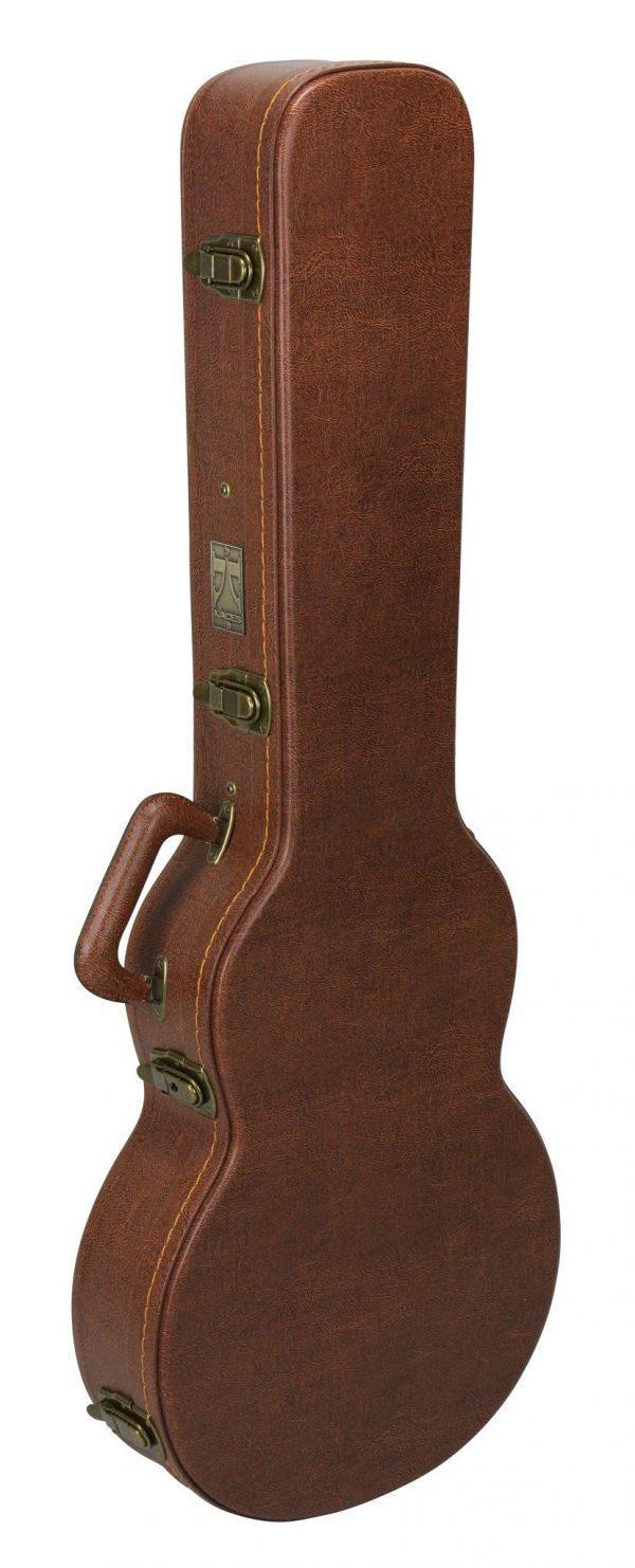 Kaces Hardshell Vintage Pink Lady LP Style Guitar Case