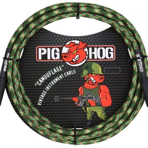 "Pig Hog ""Camouflage"" Instrument Cable, 10ft"