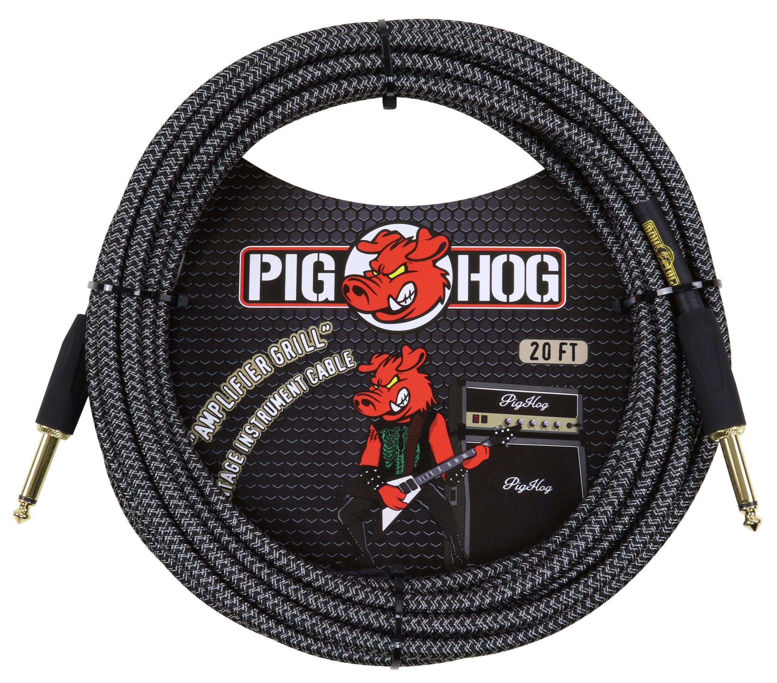 """Pig Hog """"Amp Grill"""" Instrument Cable, 20ft"""