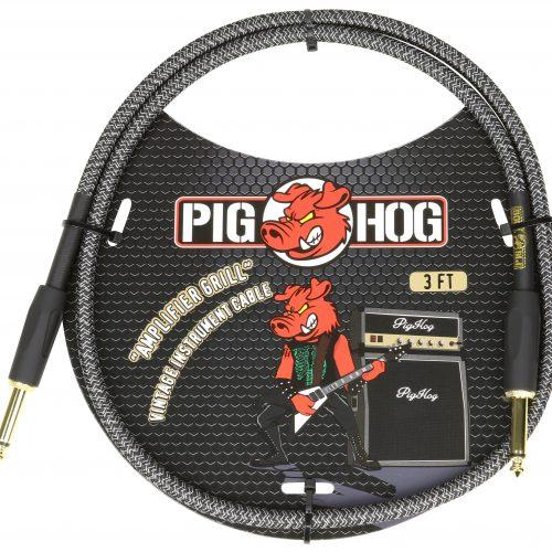 """Pig Hog """"Amplifier Grill"""" 3ft Patch Cables"""