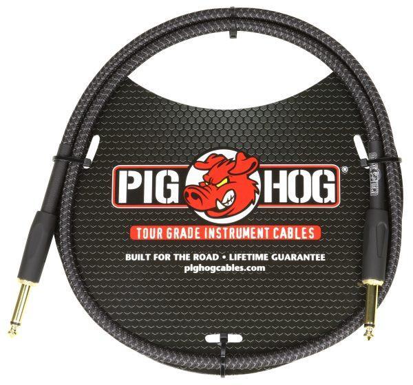 "Pig Hog ""Black Woven"" 3ft Patch Cables"