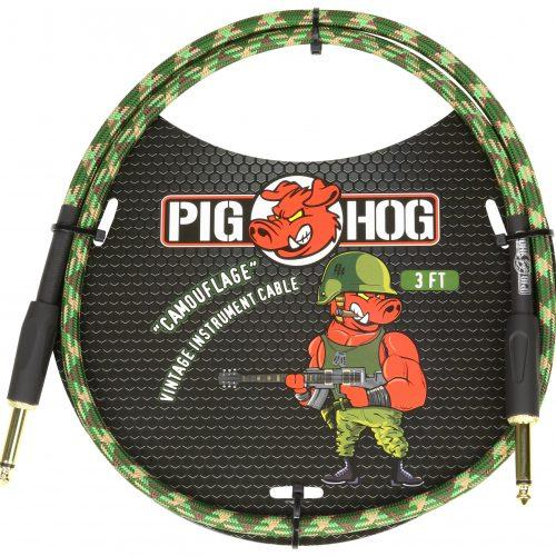 """Pig Hog  """"Camouflage"""" 3ft Patch Cables"""