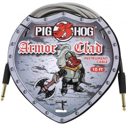 "Pig Hog ""Armor Clad"" Instrument Cable, 10ft"