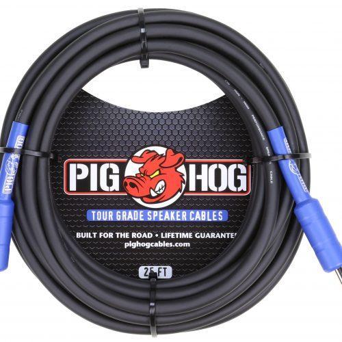 Pig Hog 9.2mm Speaker Cable, 25ft (14 gauge wire)