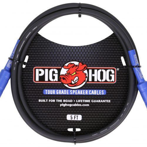 Pig Hog 9.2mm Speaker Cable, 5ft (14 gauge wire)