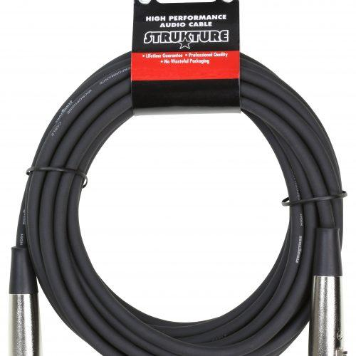 Heavy Duty 20ft. XLR mic cable, 7mm rubber