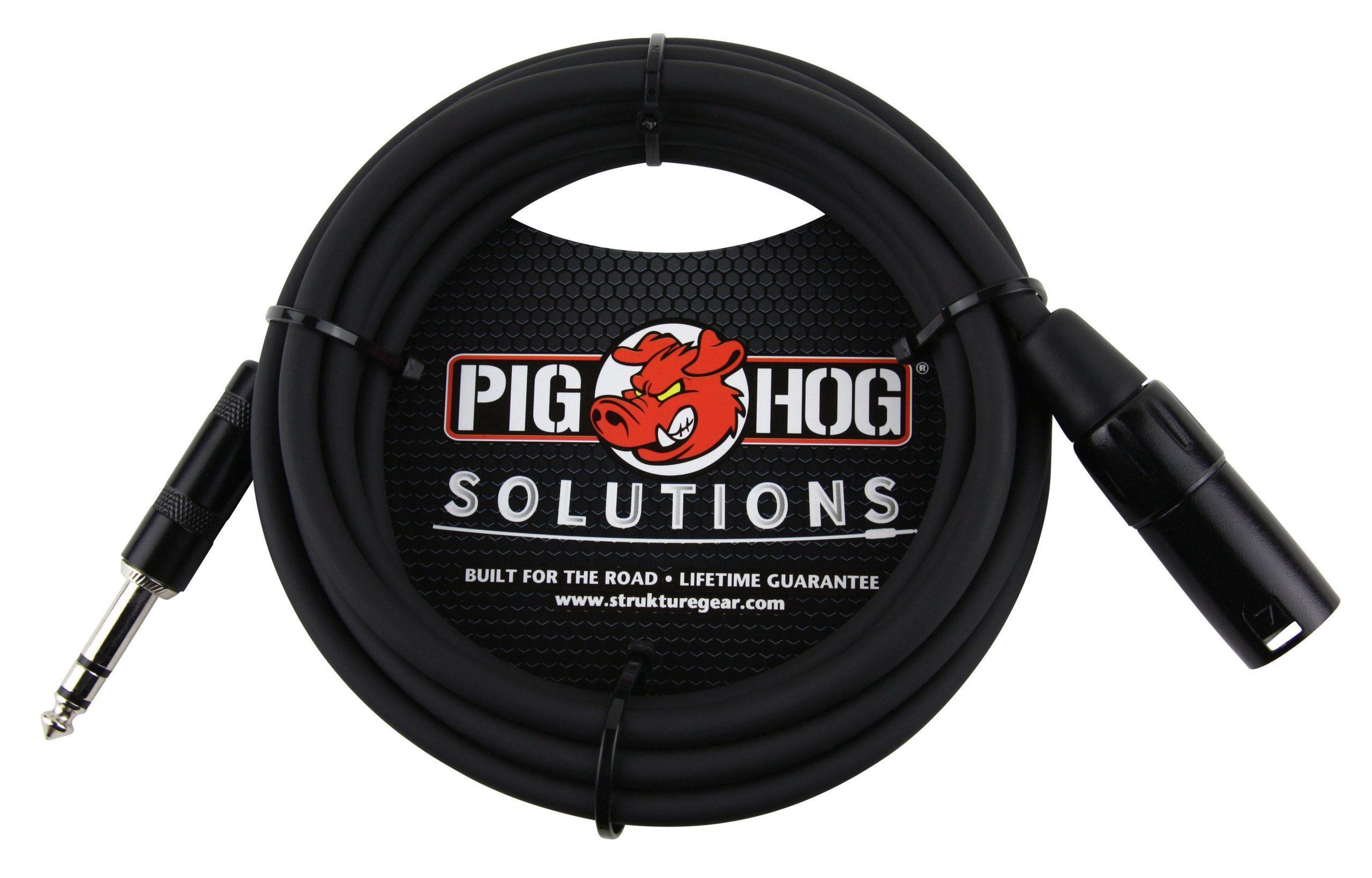 Pig Hog Solutions - 5ft TRS(M)-XLR(M) Balanced Cable