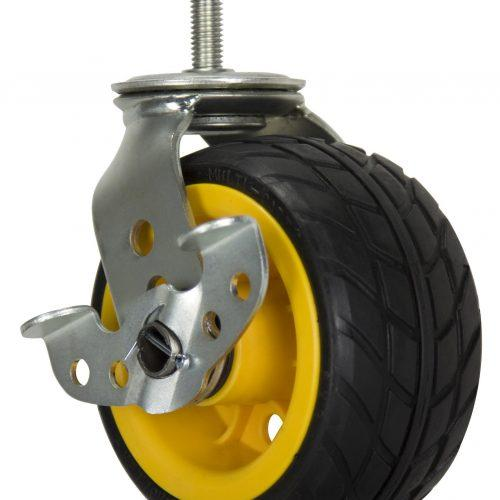 """RCSTR6X3 - Ground Glider 6"""" x 3"""" Low Profile All Terrain Casters"""