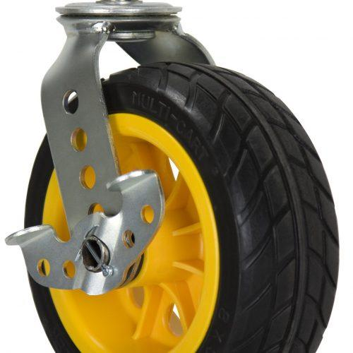"""RCSTR8X3 - Ground Glider 8"""" x 3"""" Low Profile All Terrain Casters"""