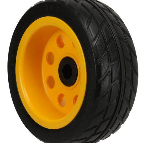 "Ground Glider Rear Wheel 2-Pack, 8"" x 3"" No-flat R-Trac (Pair of wheels for R6, R8, R14 & R16), Offset Hub"