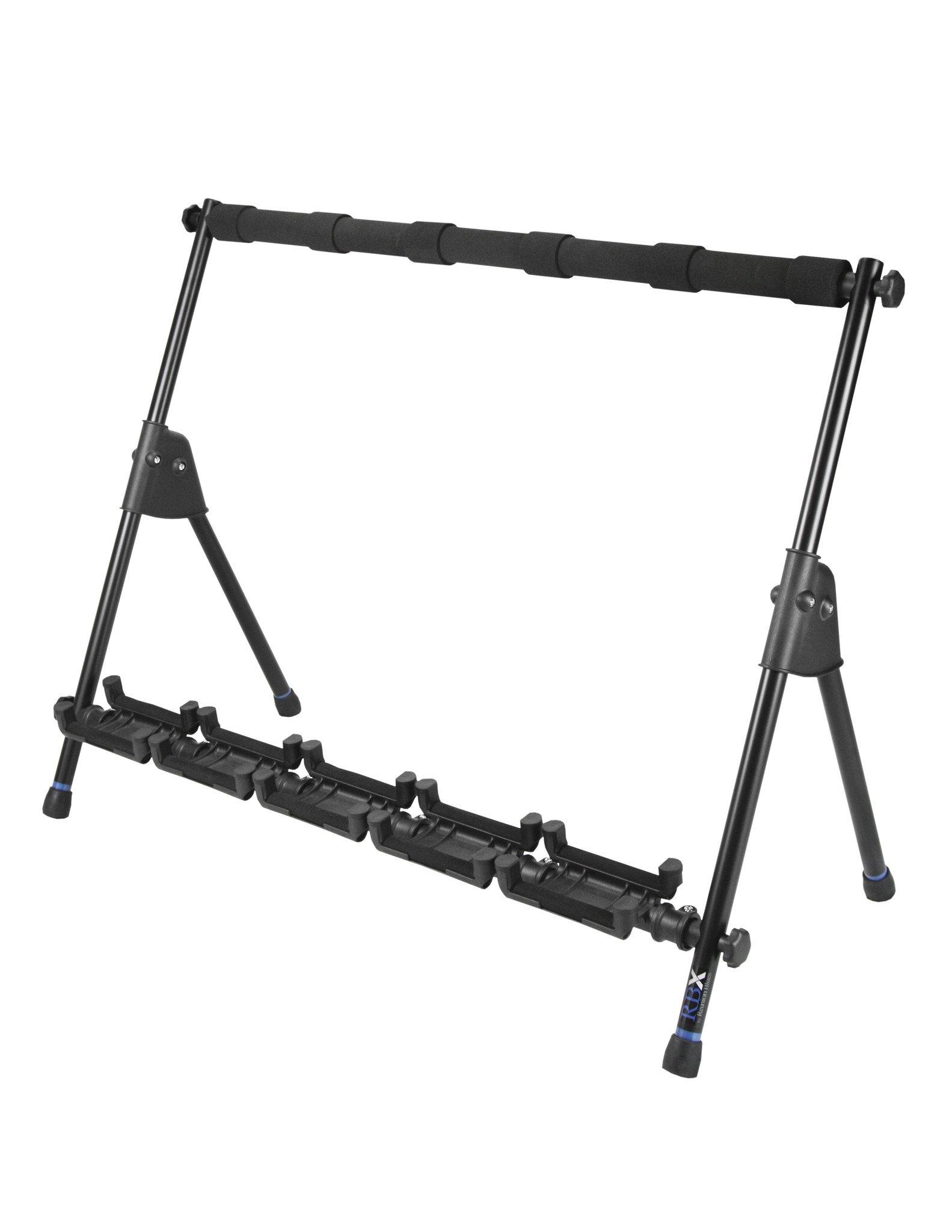 RBXS Multi-Guitar Stand (Holds 5)