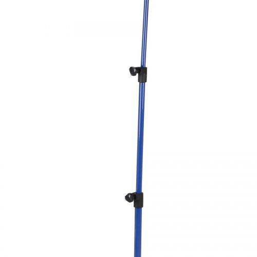 Deluxe 3-Part Folding Music Stand W/Bag - Blue