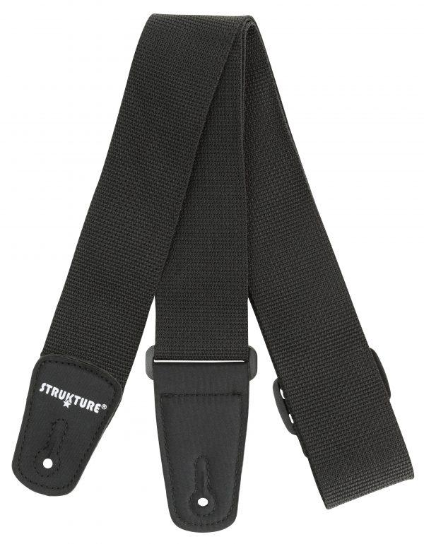 """Strukture 2"""" Poly Guitar Strap With Nylon Tabs"""