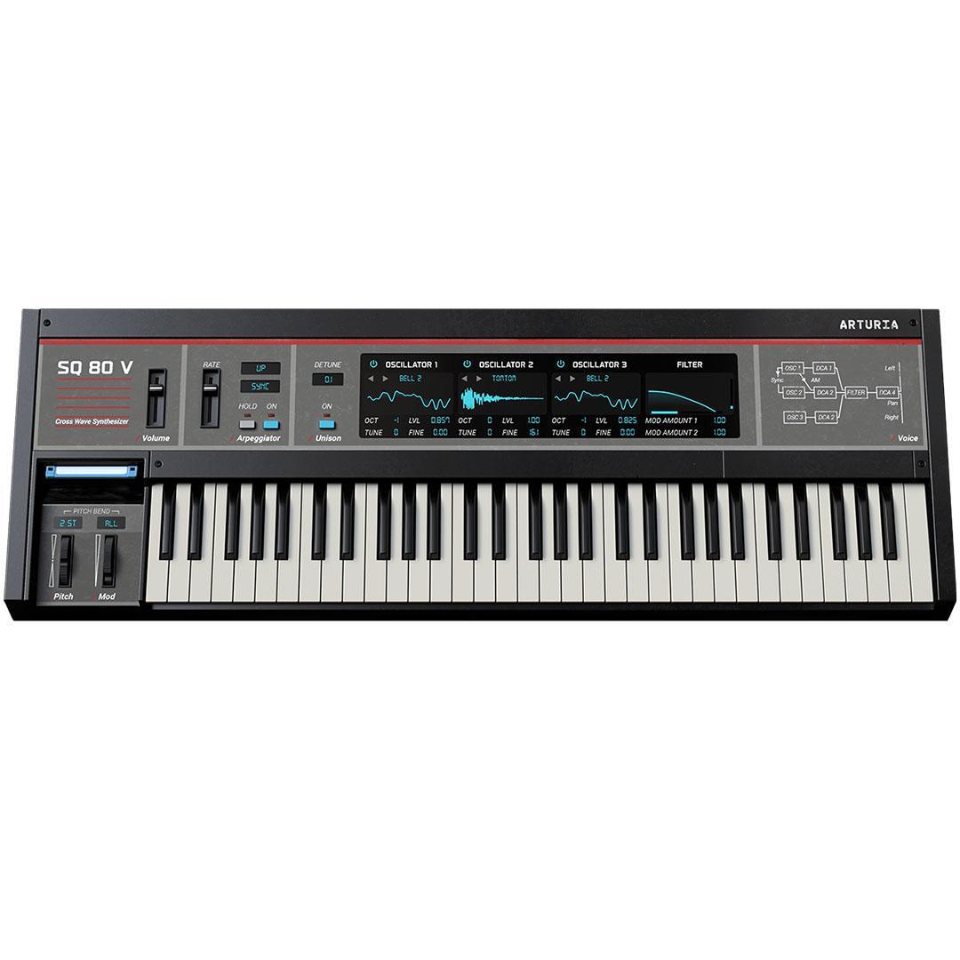 Arturia - SQ80 V | Software Instrument